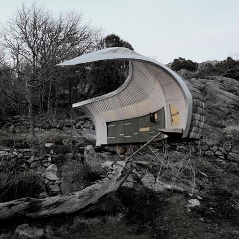 Architekten-Hühnerstall