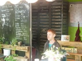 Cafe im Prinzessinnengarten