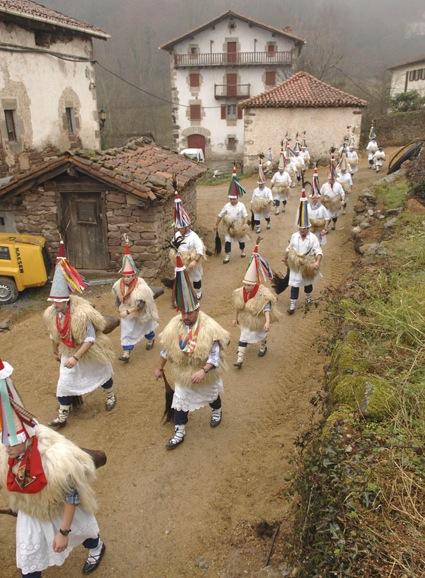 Bauern-Karneval im Baskenland