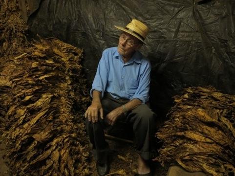 Tabakbauern von Agudo Porträt