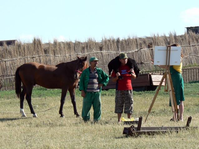 ueberland.Antje Schiffers, Thomas Sprenger_Ich bin gern Bauer..._Ferma Andrieseni, Rumänien, 2009