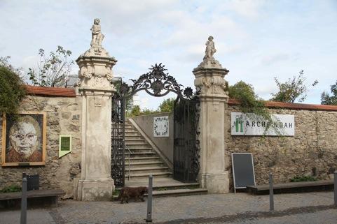 Eingang Arche Noah Schiltern