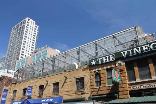 Gemüse vom Dach