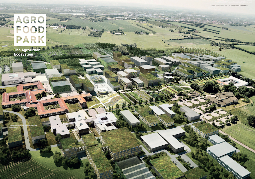 AgroFoodPark_Rendering1_©2016 Skejby, courtesy William McDonough + Partners