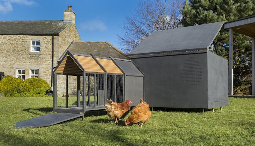 Designer-Hühnerstall von RASKL