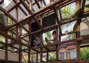 Aquaponic Farming Architects VAC-Bibliothek Hanoi