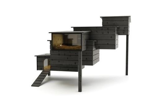 Penthouse für City-Hühner