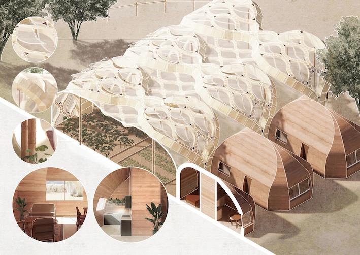 Gewächshäuser aus Papier