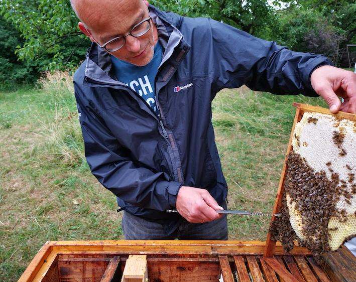 Bienen Imker Roland Berger